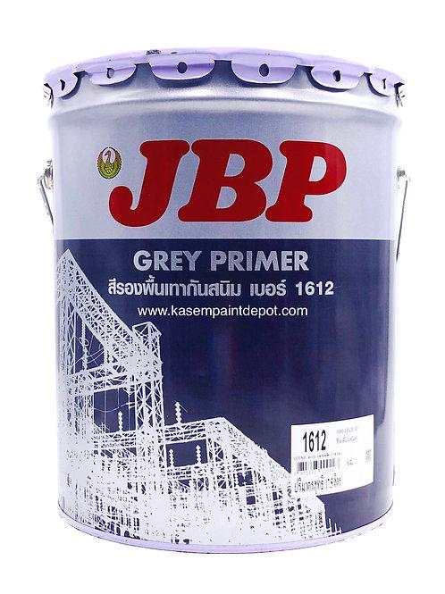 รองพื้นกันสนิมเทา เจบีพี JBP Grey Primer 1612 ถังใหญ่ 18.925ลิตร