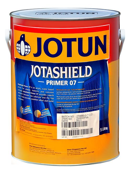 รองพื้นปูนใหม่โจตัน โจตาชิลด์ไพรเมอร์ 07 สีขาว Jotashield Primer แกลลอน