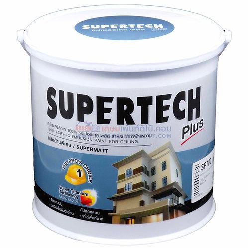 สีทาฝ้าทีโอเอ ซุปเปอร์เทค TOA Supertech Ceiling Paint Front