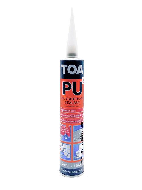 พียูอุดรอยแตกร้าว ทีโอเอ TOA PU Sealant หลอด 310ml สีเทา