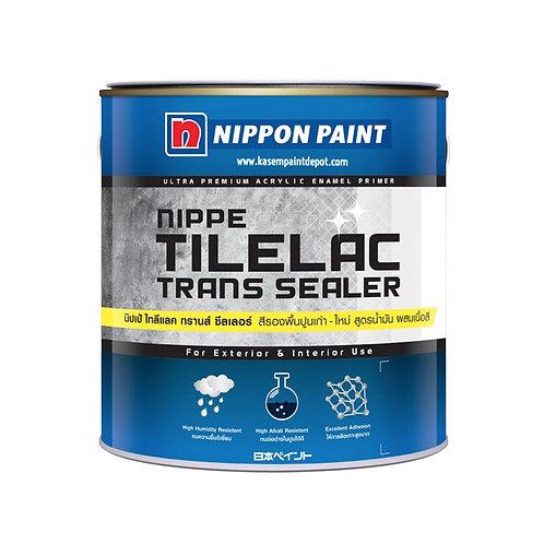 รองพื้นปูนเก่าสูตรน้ำมันผสมผงสี นิปปอน Nippon Tilelac Transealer ขนาดแกลลอน