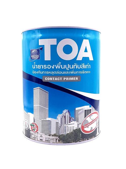 รองพื้นปูนเก่า ทีโอเอ คอนแท็คไพรเมอร์ TOA Contact Primer E1100 ถังใหญ่