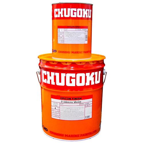 สีชูโกกุ อิพิคอน ฟินิช Chugoku Epicon Finish แม่สีแดง/เหลือง/ส้ม ถังใหญ่