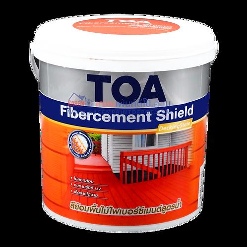 ทีโอเอ ไฟเบอร์ซีเมนต์ชิลด์ ทาพื้น ชนิดด้าน TOA Fibercement Decking Stain