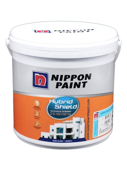 สีนิปปอน ไฮบริดชิลด์ กึ่งเงา Nippon Hybrid Shield SG Base A ขนาด กล. 3.785 ลิตร