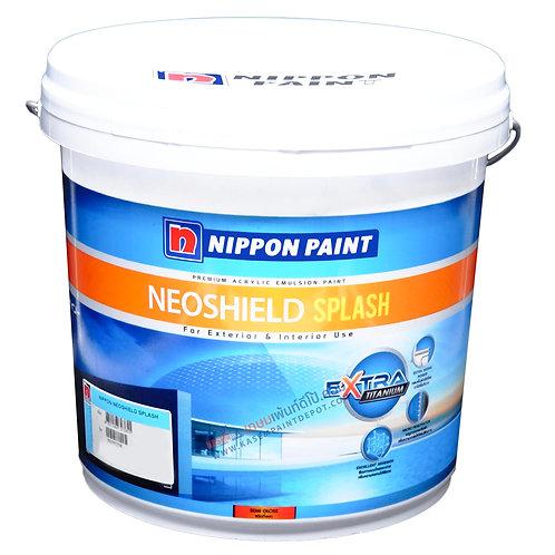 สีนิปปอนนีโอชิลด์สแปลช ภายนอก กึ่งเงา Nippon Neoshield Splash ถัง 9 ลิตร