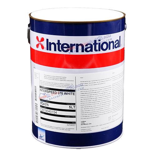 สีกันเพรียง อินเตอร์เนชั่นแนล สีขาว International Paint Interspeed 376 กล. 5ลิตร