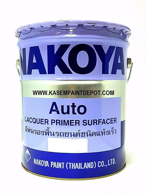 พ่นรองพื้นดำนาโกย่า B130 Nakoya Lacquer Primer Surfacer Black ถังใหญ่