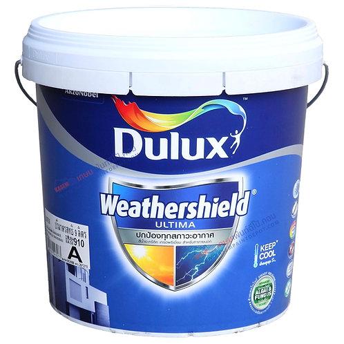สีน้ำ ICI Dulux Weathershield Ultima ดูลักซ์ เวเธอร์ชิลด์ เนียน