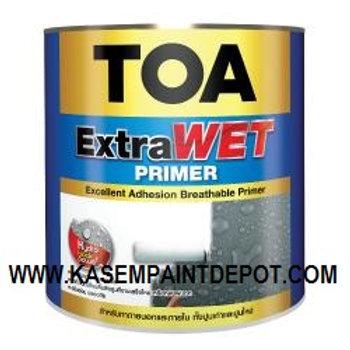 รองพื้นปูนใหม่ ทีโอเอ เอ็กซ์ตร้าเวทไพรเมอร์ TOA ExtraWet Primer แกลลอน