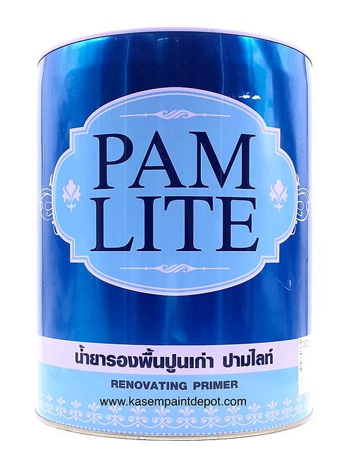 รองพื้นปูนเก่าปามมาสติก ปามไลท์ Pammastic Pamlite ถังใหญ่ 18.925 ลิตร