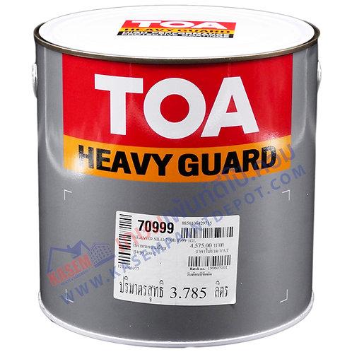 สีทีโอเอ ทนความร้อน TOA Silguard 700 #999 สีดำ ซิลการ์ด 700 ทนร้อน 700 องศา