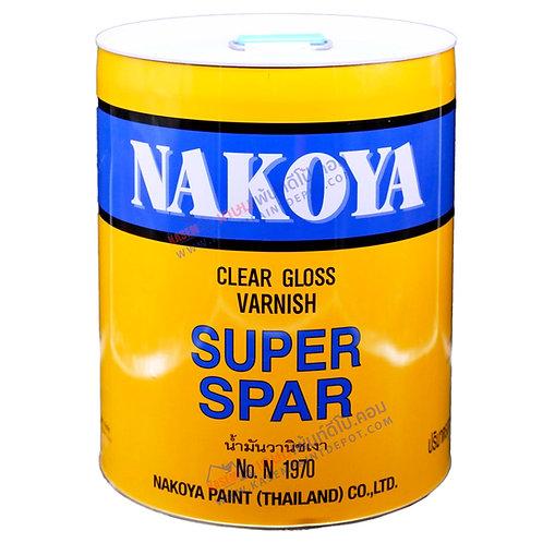 วานิชเงา นาโกย่า N1970 Nakoya Superspa Varnish Clear Gloss ถังใหญ่