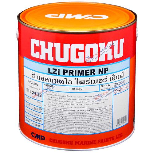 รองพื้นกันสนิมชูโกกุ สีเทา Chugoku LZI Primer NP Light Grey ขนาดแกลลอน