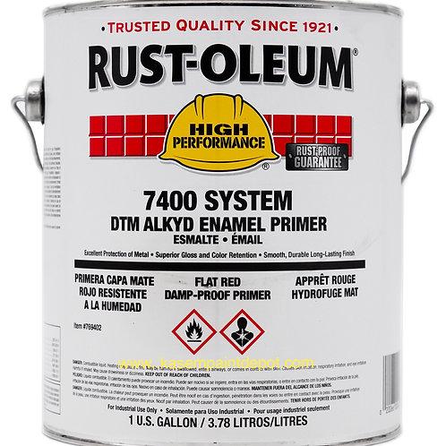 รองพื้นกันสนิมแดงทนความชื้นและสนิม รัสท์โอเลี่ยม Rust Oleum Red Primer 769 กล.