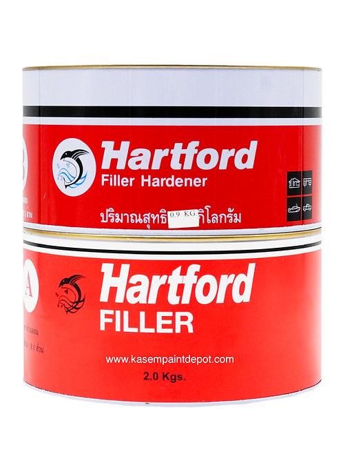 กาวขุ่น/ชันฝรั่งฮาร์ทฟอร์ด Hartford Epoxy Filler ขนาด 2.9 กก. ชุดเล็ก