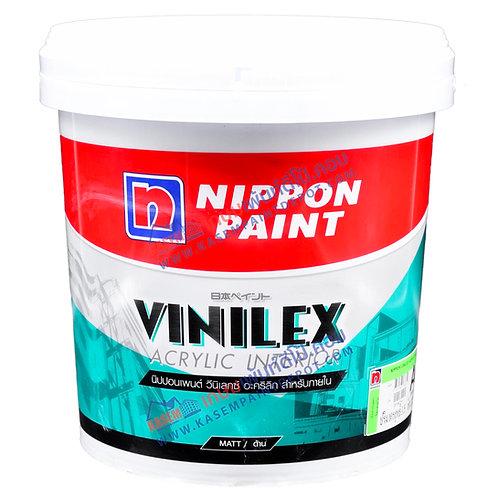 สีนิปปอน วินิเล็กซ์อะคริลิค ภายใน ด้าน Nippon Vinelex Acrylic Base A ถัง 9 ลิตร