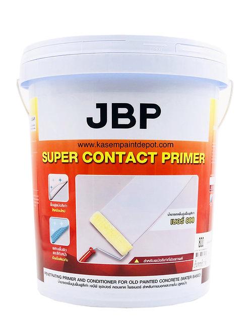 สีรองพื้นปูนเก่าเจบีพี สูตรน้ำ JBP Super Contact Primer 800 ถังใหญ่ 18.925 ลิตร