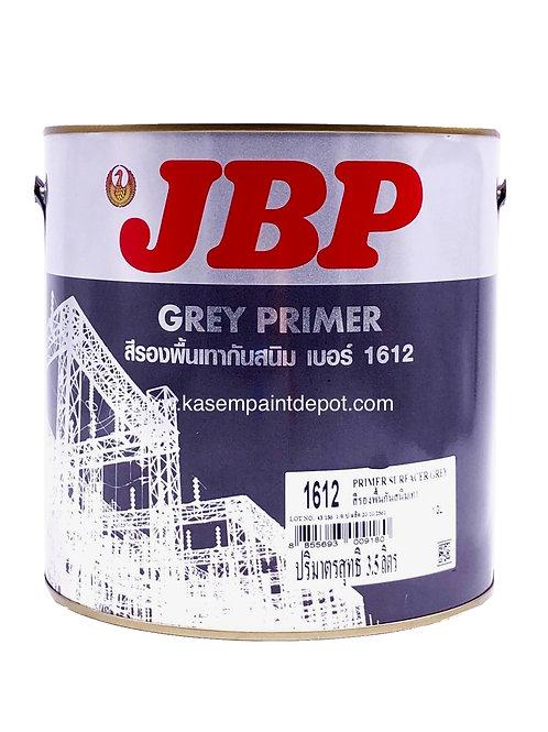 รองพื้นกันสนิมเทา เจบีพี JBP Grey Primer 1612 แกลลอน 3.785 ลิตร