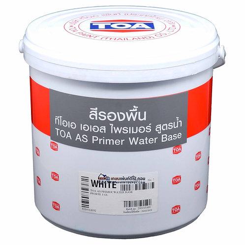 TOA AS Primer White รองพื้นทีโอเอ เอเอส ไพรเมอร์ สีขาว