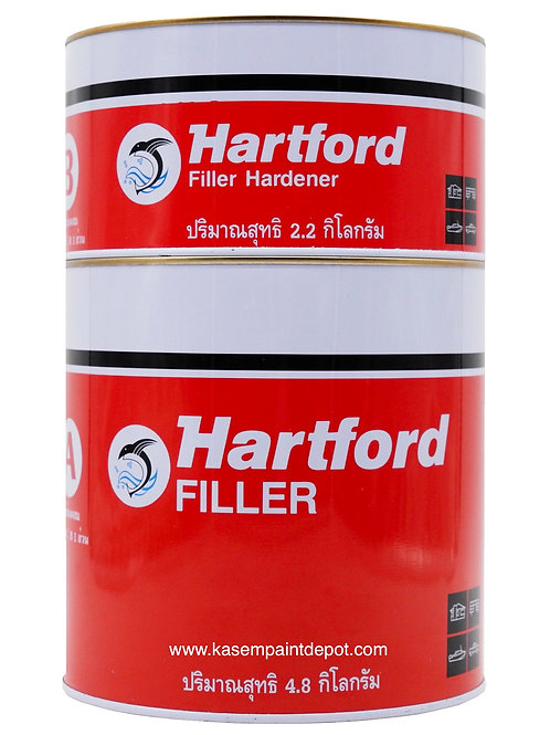 กาวขุ่น/ชันฝรั่งฮาร์ทฟอร์ด Hartford Epoxy Filler ขนาด 7 กก. ชุดใหญ่
