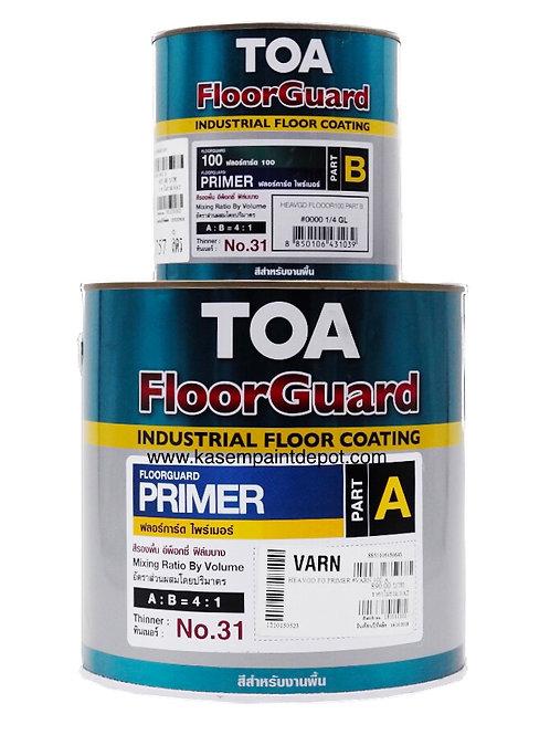 รองพื้นอีพ๊อกซี่ทาพื้นทีโอเอ TOA Floorguard Primer