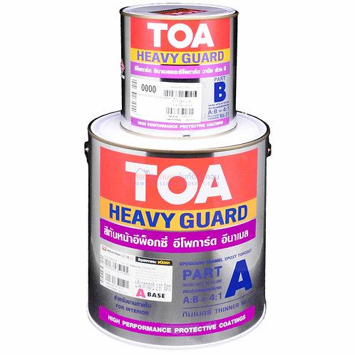 TOA Epoguard Enamel สีอีพ๊อกซี่ทีโอเอ อีโพการ์ด อีนาเมล RAL9006 Aluminium