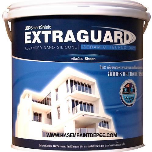สีน้ำภายนอกเนียนเจบีพี JBP Extraguard ถังใหญ่
