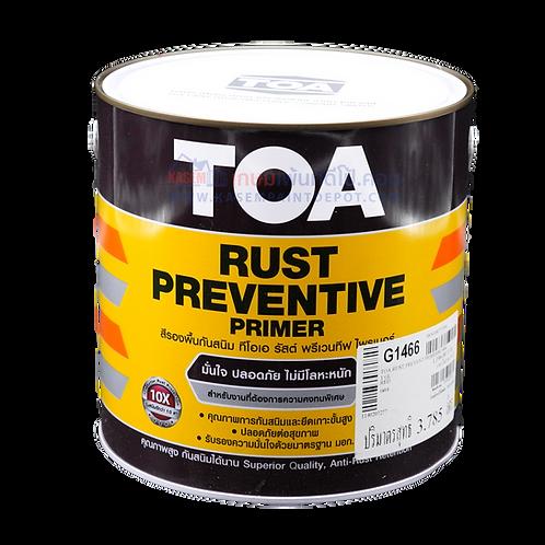 รองพื้นกันสนิมแดง ทีโอเอ TOA Rust Preventive G1466 แกลลอน มีมอก.