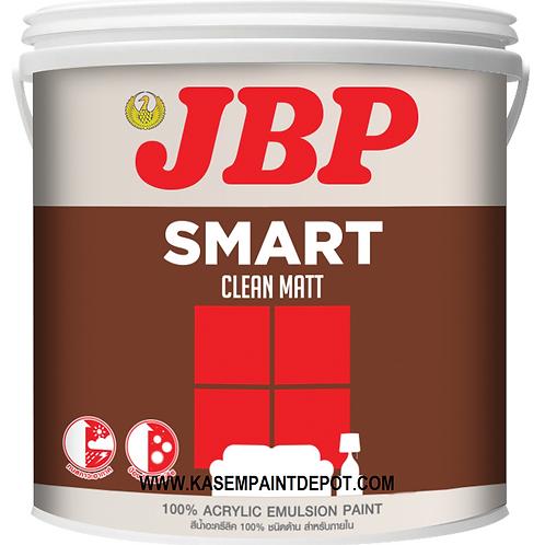 สีน้ำภายในด้าน เจบีพี JBP Smart Clean ถังใหญ่