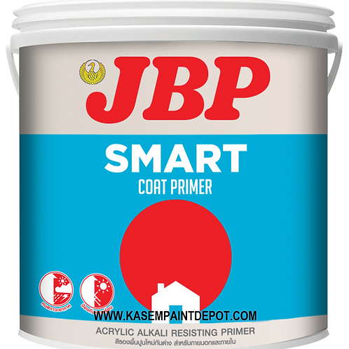 สีรองพื้นปูนใหม่เจบีพี สมาร์ทโค้ท 8700 JBP Smart Coat Primer 8700 ถังใหญ่
