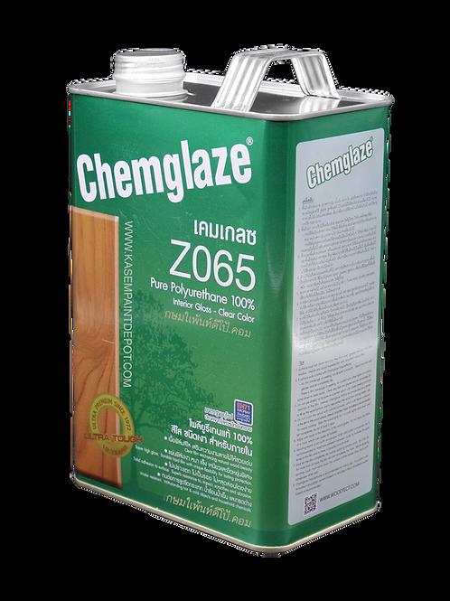 Chemglaze Z065 เคมเกลซ โพลียูริเทนทาไม้ ภายใน ชนิดเงา แกลลอน 3.785 ลิตร