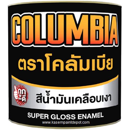 สีน้ำมัน เจบีพี รุ่น โคลัมเบีย JBP Columbia Super Gloss Enamel ขนาดแกลลอน