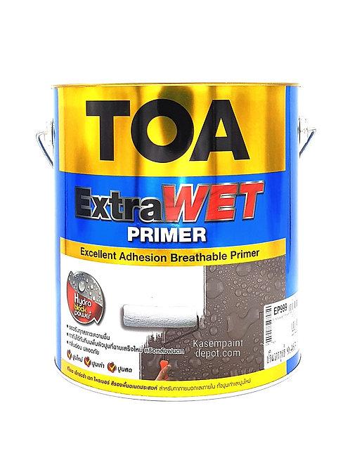 รองพื้นปูนใหม่ ทีโอเอ ทีโอเอ เอ็กซ์ตร้าเวทไพรเมอร์ TOA ExtraWet Primer ถังใหญ่