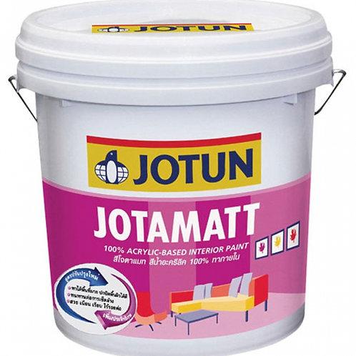 สีน้ำภายใน ชนิดด้าน โจตัน โจตาแมท Jotun Jotamatt Base A ถังเล็ก