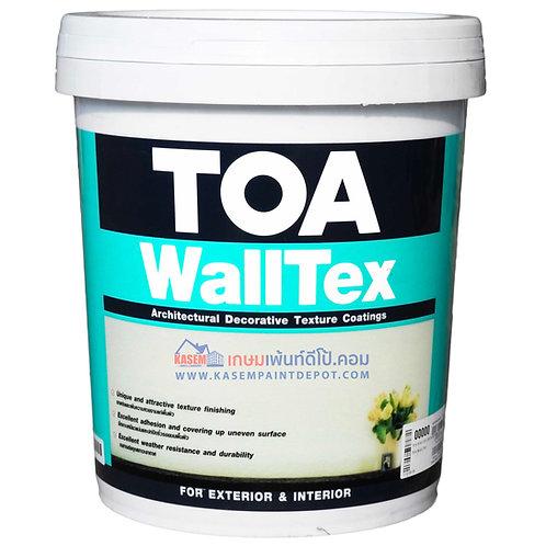 สีทีโอเอ วอลเท็กซ์ TOA Walltex สีสร้างลายนูนไปรไฟล์ ขนาดถัง 26 กก.