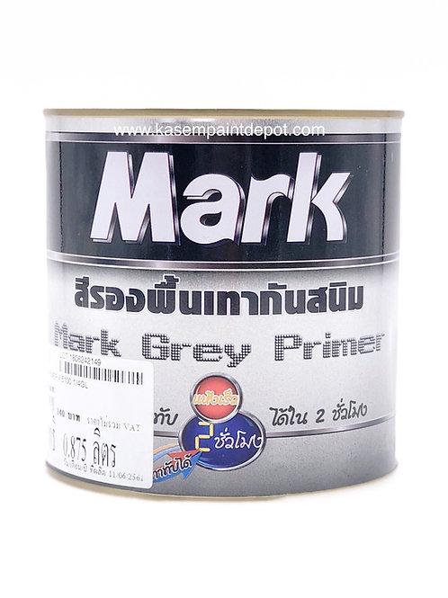 รองพื้นกันสนิมเทากัปตัน มาร์ค Captain Mark Grey Primer แกลลอน