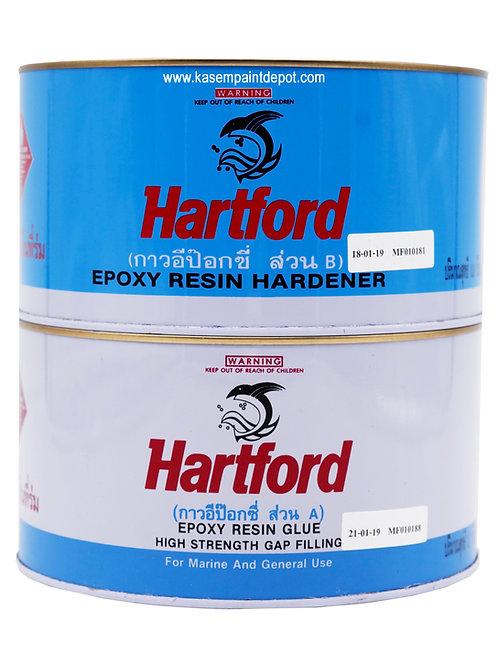 กาวใสฮาร์ทฟอร์ด Hartford Clear Epoxy Glue ขนาด 2.9 กิโลกรัมชุด