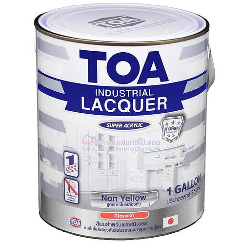 สีพ่นอุตสาหกรรม TOA ชนิดไม่เหลืองตัว Non Yellow Industrial Lacquer ขนาดแกลลอน