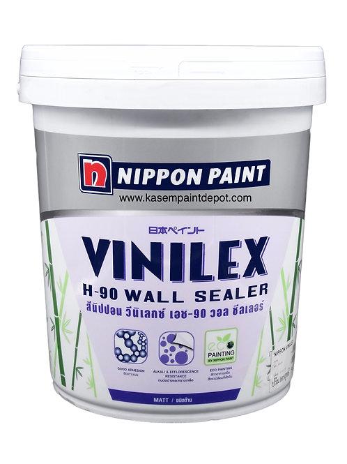 รองพื้นปูนใหม่นิปปอน เอช90 วอลซีลเลอร์ Nippon H90 Wall Sealer ถังใหญ่ 18.925ลิตร