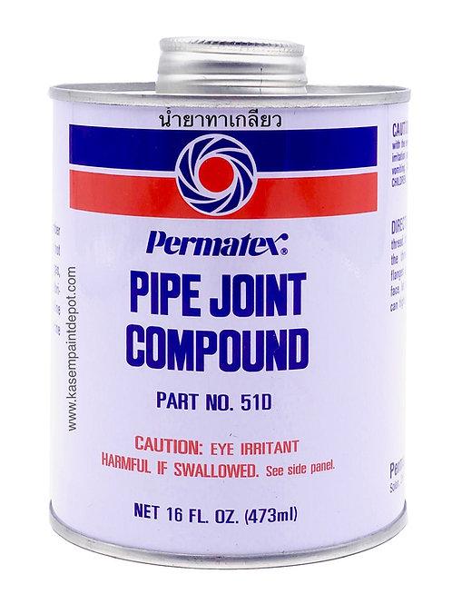 น้ำยาทาเกลียวเปอมาเท็กซ์ Permatex Pipe Joint Compound No.51D ขนาด 473ML