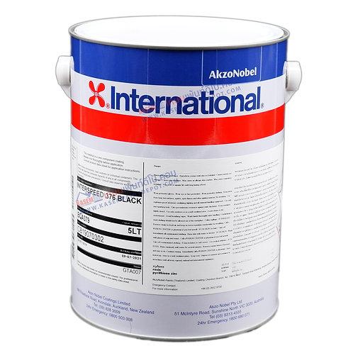 สีกันเพรียง อินเตอร์เนชั่นแนล สีดำ International Interspeed 376 กล. 5 ลิตร