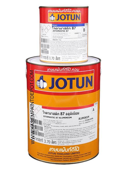 รองพื้นอีพ๊อกซี่โจตัน โจตามาสติก 87 อลูมิเนียม Jotamastic 87 Aluminium 4.4 ลิตร