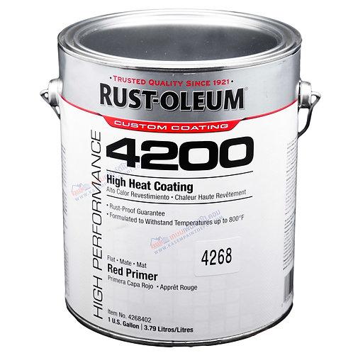 รองพื้นทนความร้อนรัสท์โอเลี่ยม Rust Oleum Heat Resistance Red Primer 4268 แกลลอน