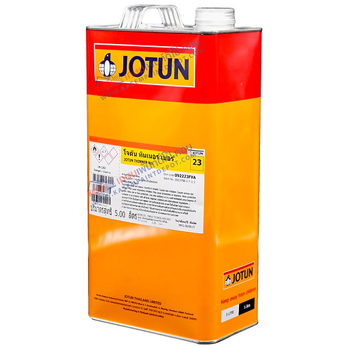 Jotun Thinner No.23  ทินเนอร์โจตัน เบอร์ 23 ผสม Jotun Tankguard ขนาดแกลลอน