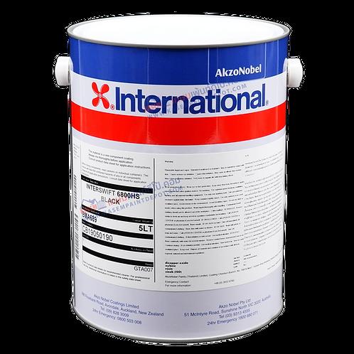 สีกันเพรียง อินเตอร์เนชั่นแนล สีดำ International Paint Interswift 6800HS 5 ลิตร