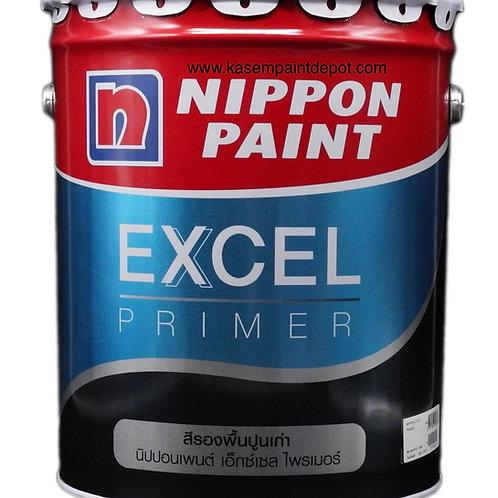 รองพื้นปูนเก่าสูตรน้ำมัน นิปปอน Nippon Excel Primer ขนาดถังใหญ่ 18.925 ลิตร