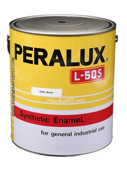 สีน้ำมันพีราลักส์ PERALUX L50S เฉดสีดำ 5099 ขนาดแกลลอน 3.785 ลิตร