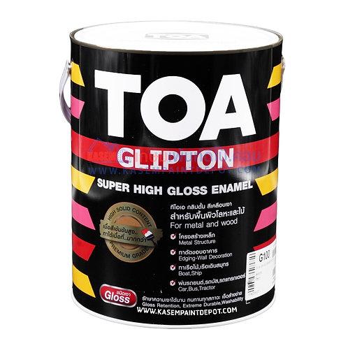 สีน้ำมัน TOA Glipton G100 สีขาว ทีโอเอ กลิปตัน แกลลอน 3.785 ลิตร