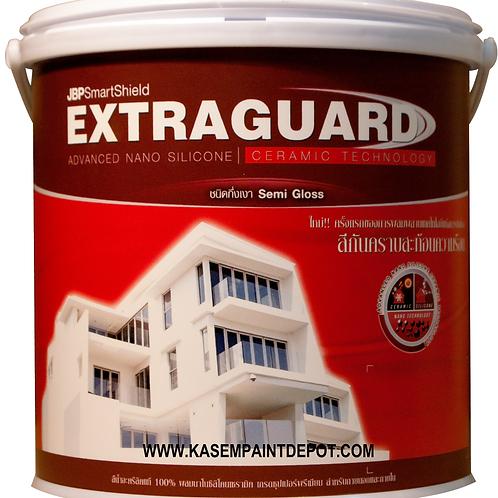สีน้ำภายนอกกึ่งเงา JBP Extraguard ถังใหญ่
